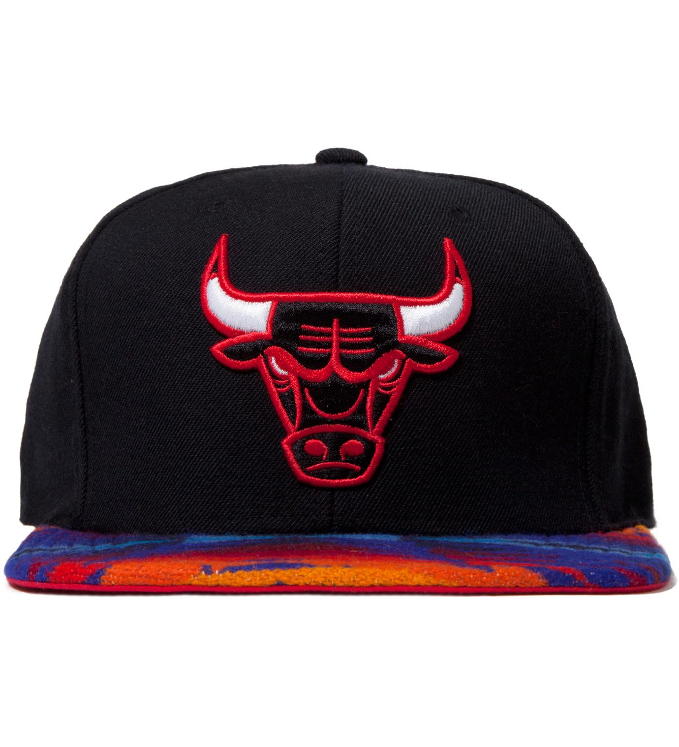 The Genesis Project Chicago Bulls Blue Navajo Strap-Back Cap
