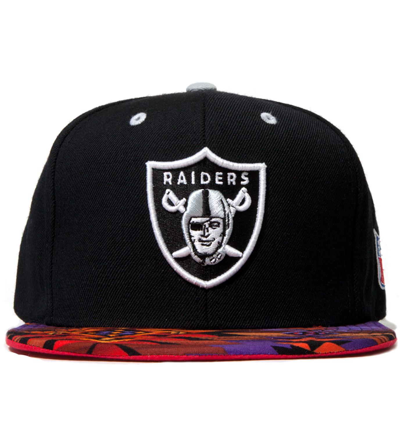 The Genesis Project Oakland Raiders Purple Navajo Strap-Back Cap