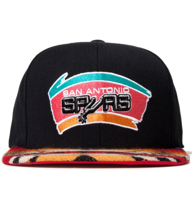 The Genesis Project San Antonio Spurs Red Navajo Strap-Back Cap