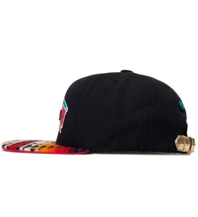 The Genesis Project San Antonio Spurs Red Navajo Strap-Back Cap