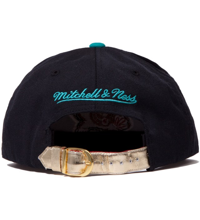 The Genesis Project Vancouver Grizzlies Teal Navajo Strap-Back Cap