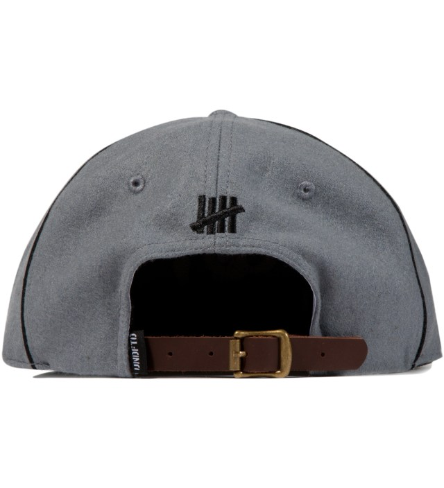 UNDEFEATED Heather Grey UD Pipe Ebbets Ballcap