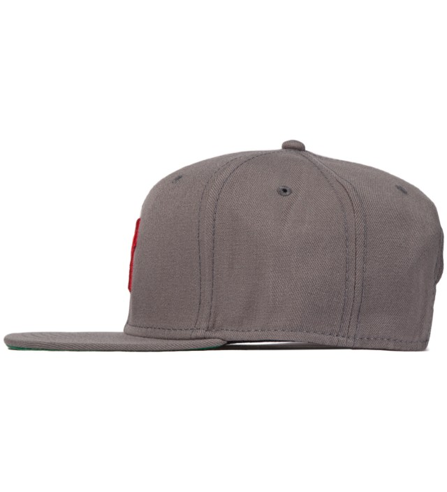 UNDEFEATED Heather Grey 5 Strike Snapback Ballcap