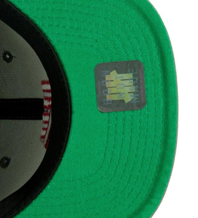 Undefeated Heather Grey 5 Strike Snapback Ballcap