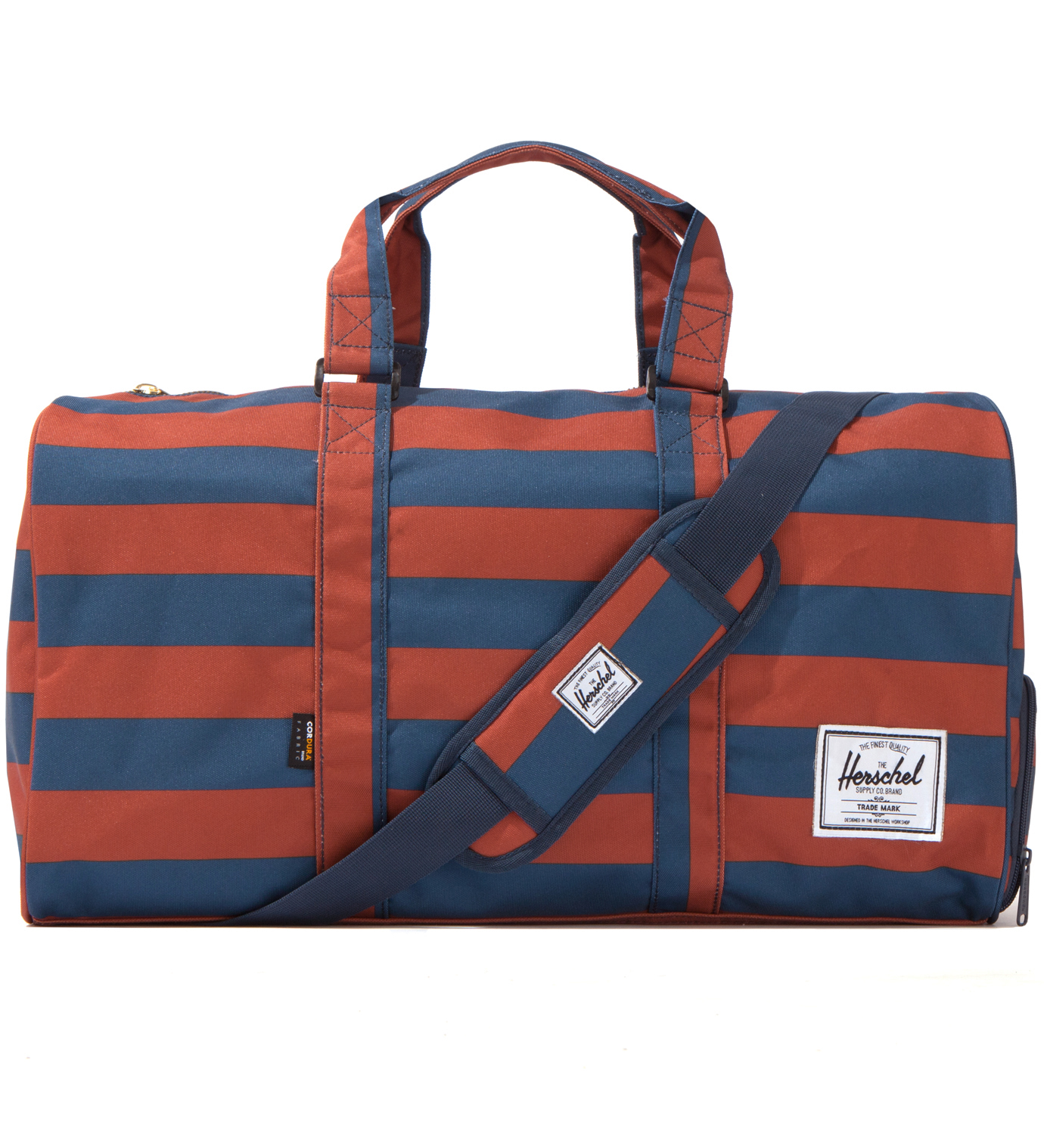 Herschel Supply Co. Rust/Navy Novel Duffel
