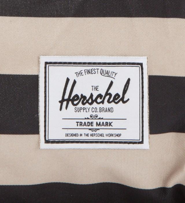 Herschel Supply Co. Black/Taupe Novel Duffel