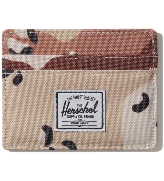 Herschel Supply Co. Desert Camo Charlie Card Holder