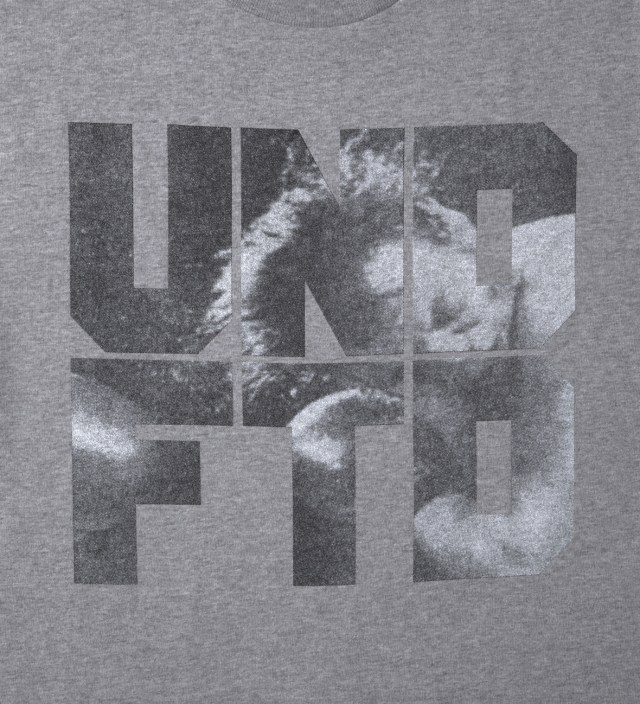 UNDEFEATED Heather Grey SS Punch T-Shirt