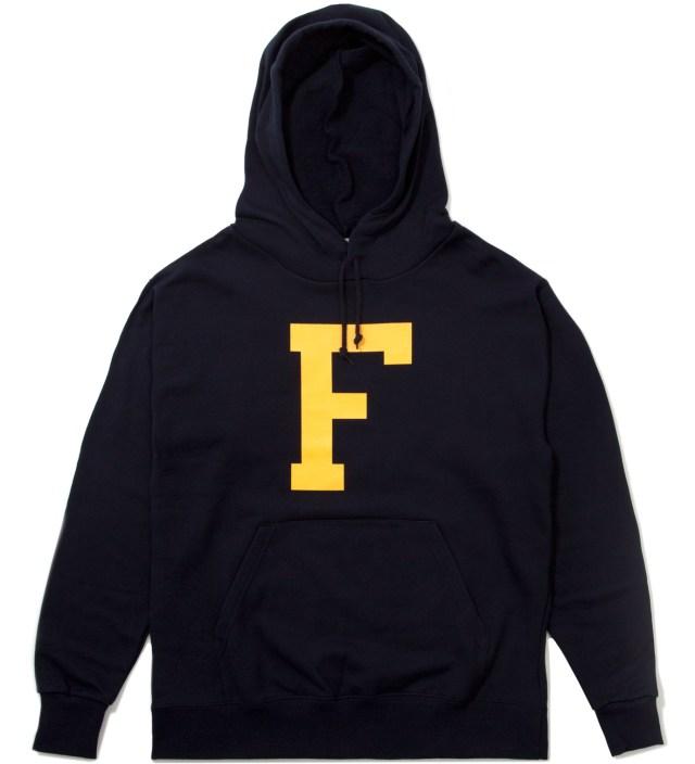 """Frank Navy Big """"F"""" Hoodie"""