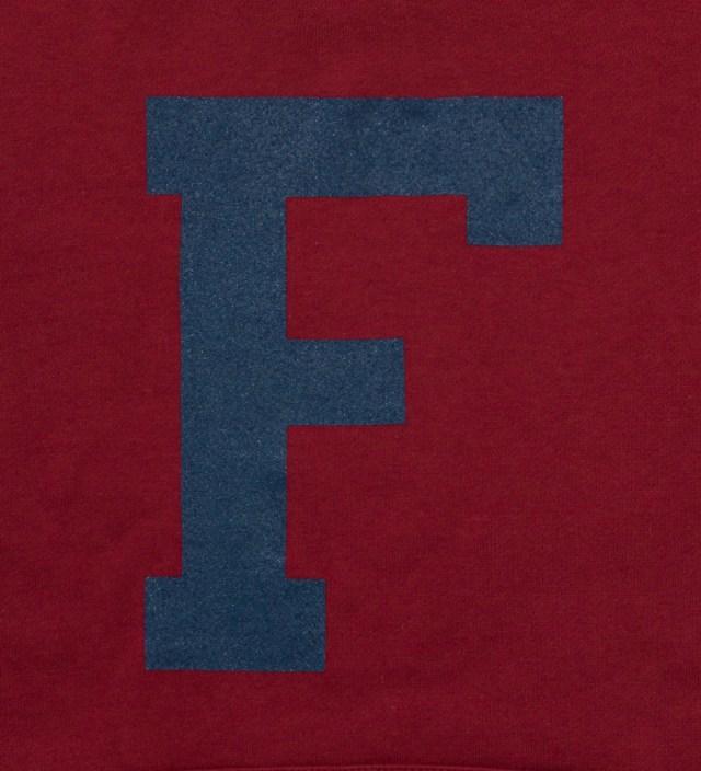 "Frank Burgundy Big ""F"" Hoodie"