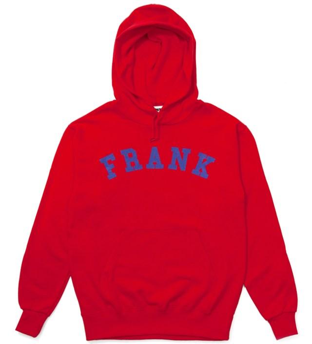 Frank Red Frank Arch Logo Hoodie