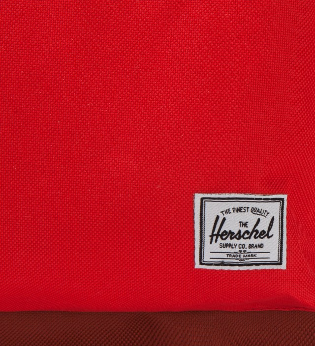 Herschel Supply Co. Red/Rust Settlement Backpack