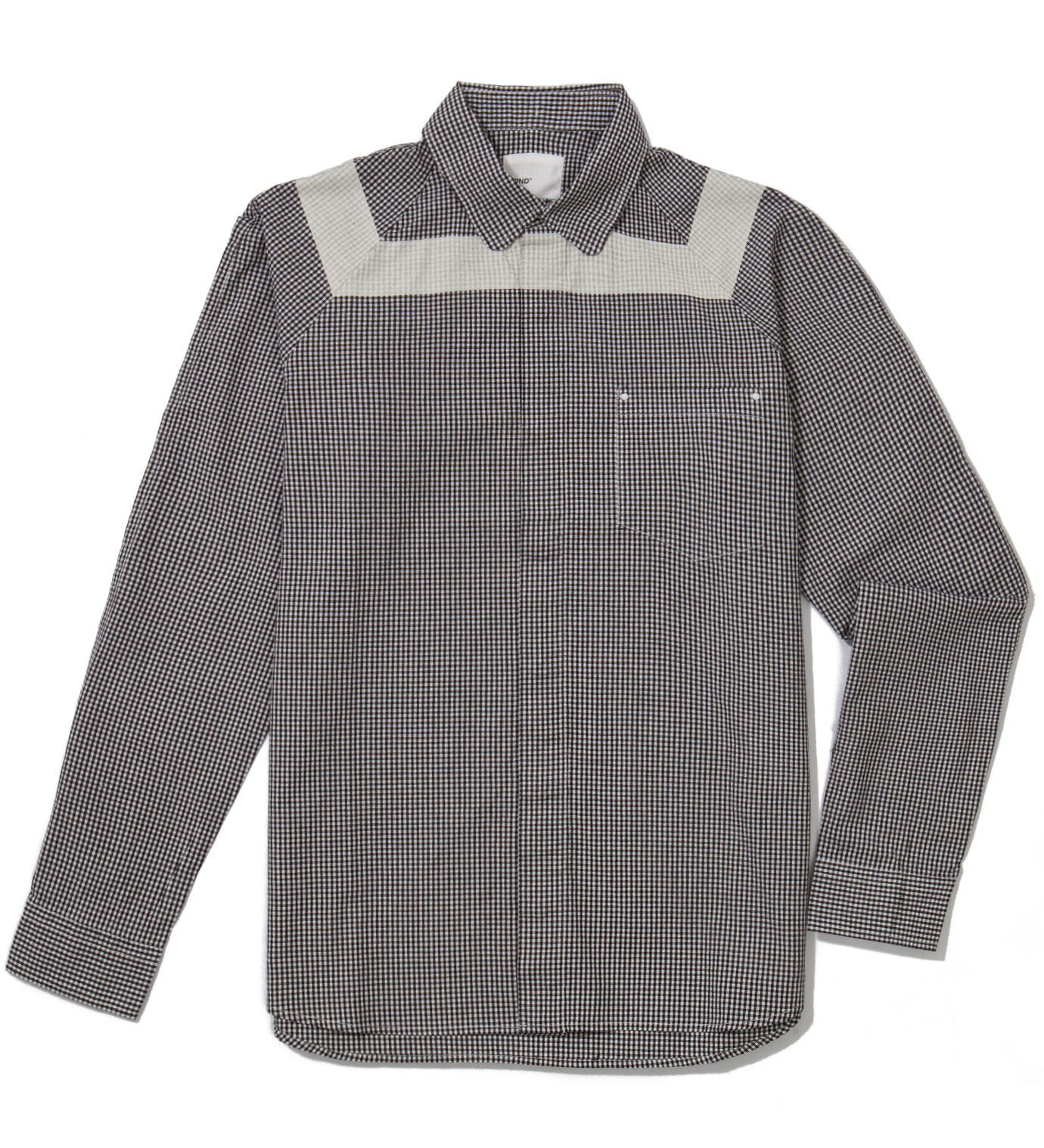 IMIND Black Gingham Shirt