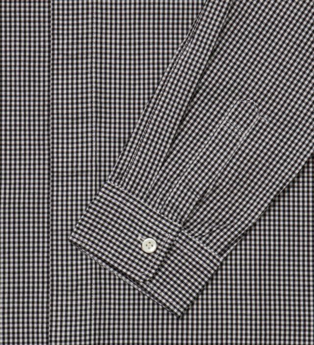IMIND Black Gingham Shirt