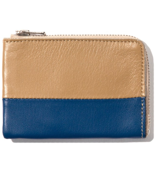IMIND Beige/Navy Card Case