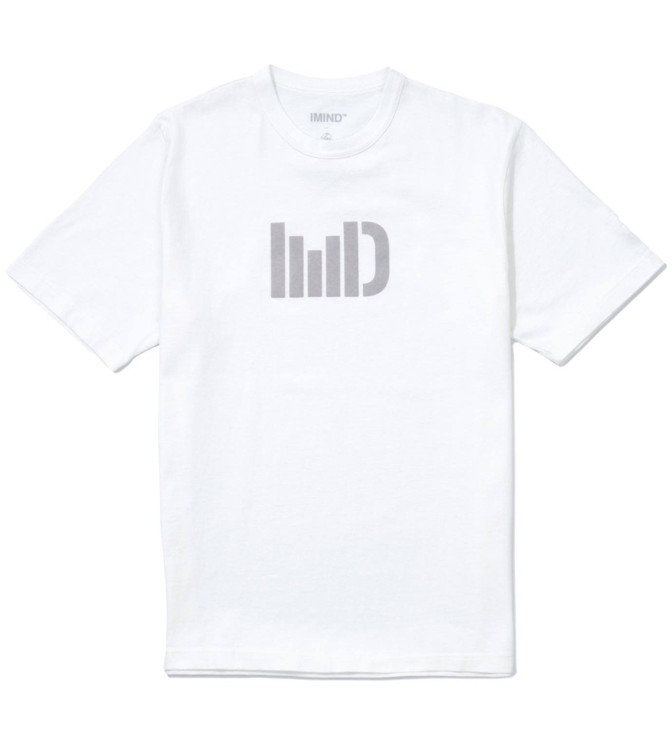 IMIND White IMD Logo T-Shirt