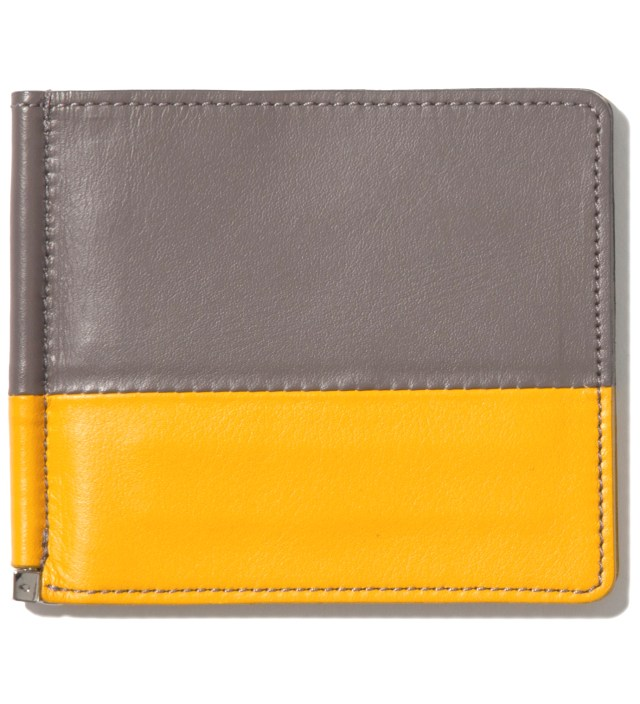 IMIND Gray/Yellow Card Case & Money Clip