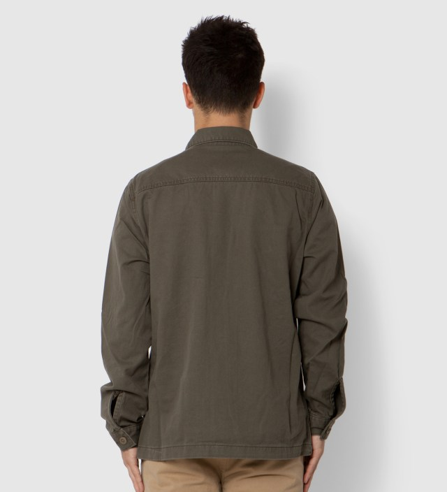 Stussy Olive Troops Shirt