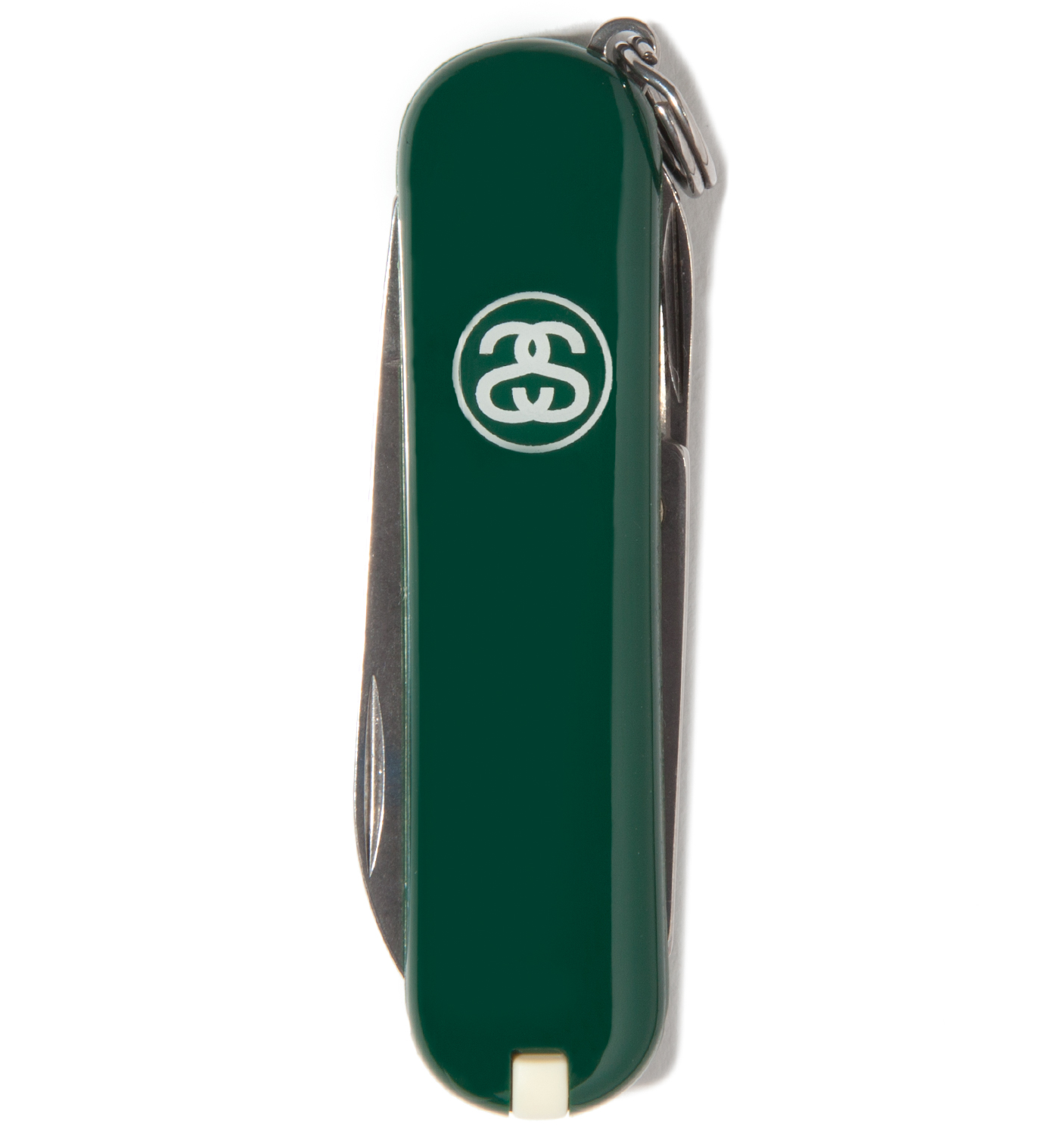 Stussy Green SS Link Pocket Knife