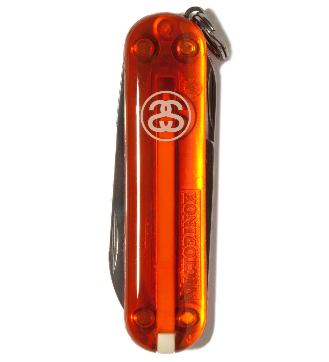 Stussy Orange SS Link Pocket Knife