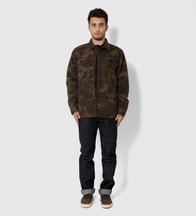 Stussy Brown Field Issue Jacket