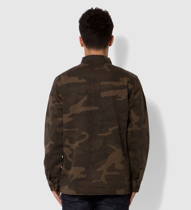 Stussy Brown Field Issue Jacket