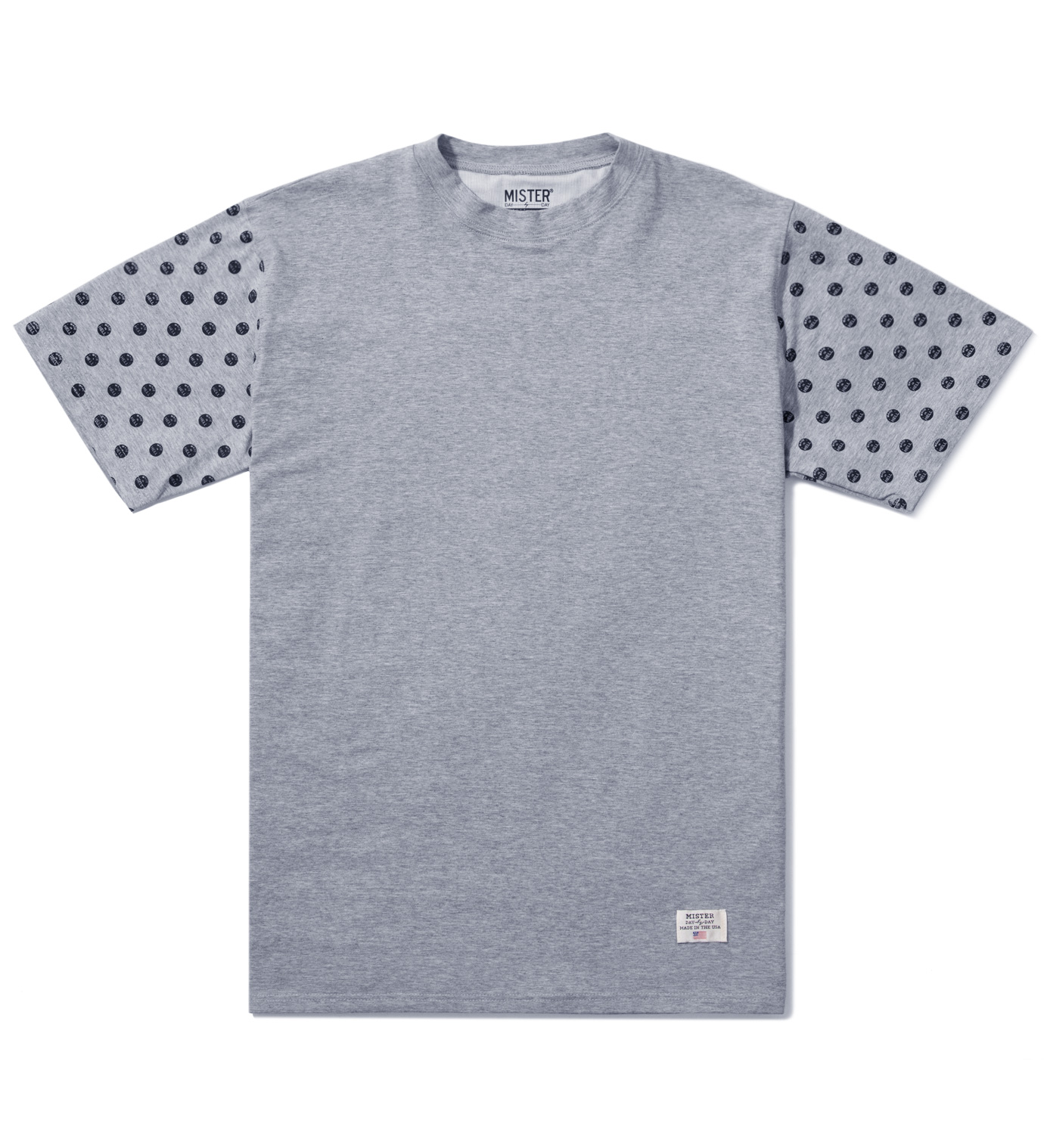 Mister Grey/Black Print Mr. Dots Immediate T-Shirt
