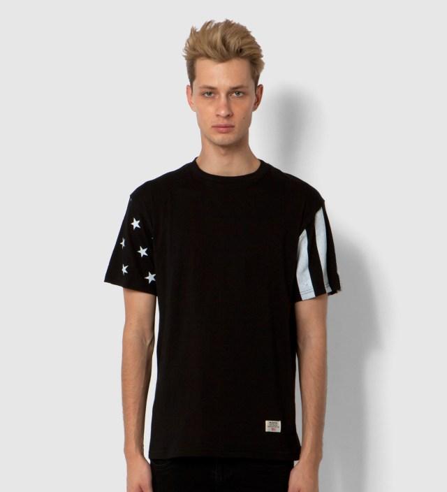 Mister Black/White Print Mr. USA Summer Blend T-Shirt