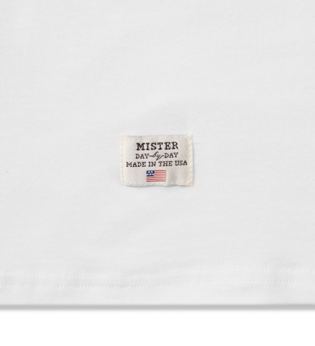 Mister White/Black Print Mr. Bandana Immediate T-Shirt