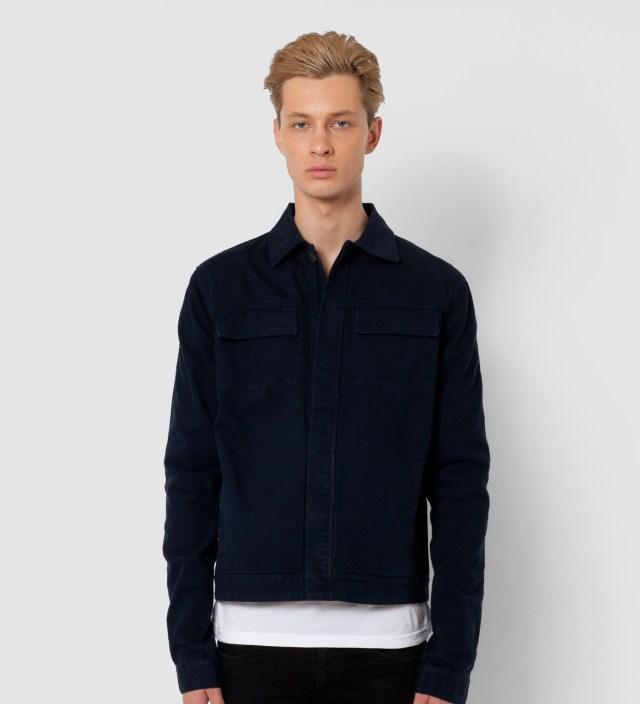 A. Sauvage Navy Denim Jacket