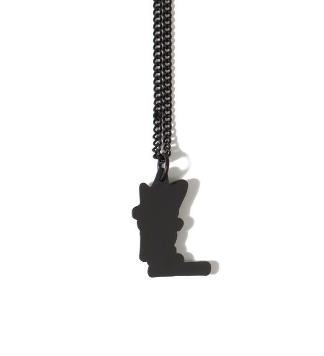 Stussy Black Stock Link Necklace