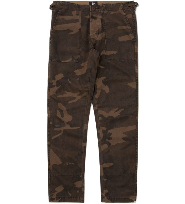 Stussy Brown Camo Duke II Pants