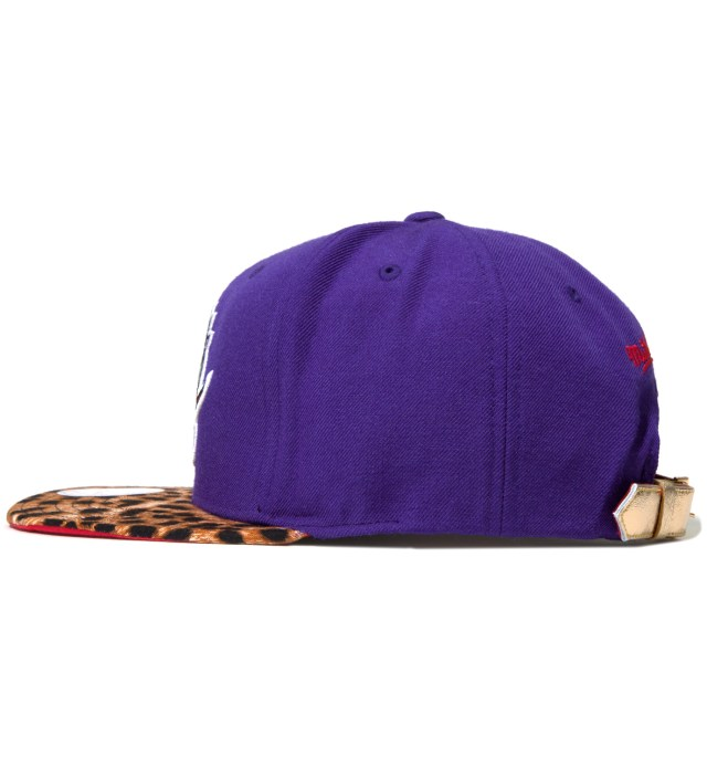 The Genesis Project Toronto Raptors Cheetah Strap-Back Cap