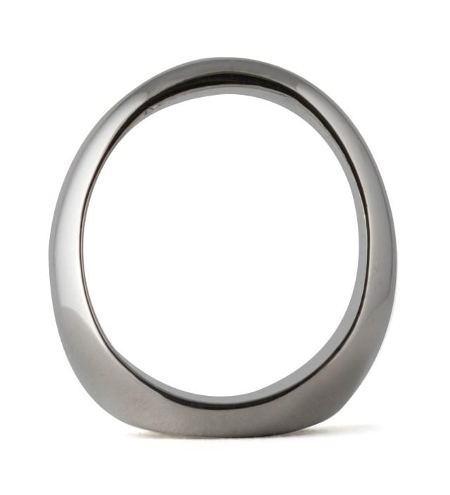 Stussy Silver Big S Ring