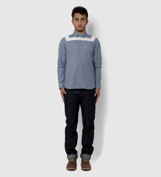 IMIND Blue Gingham Shirt