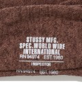 Stussy Brown Inspector Crew Socks