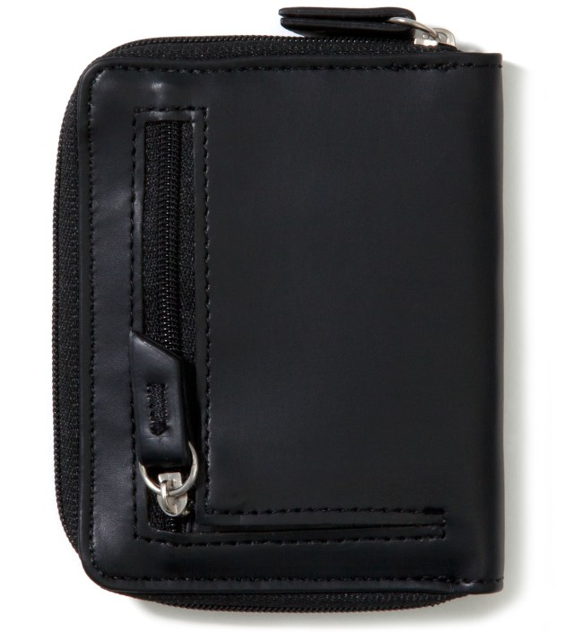 Stussy Black Super Solid Sideways Wallet