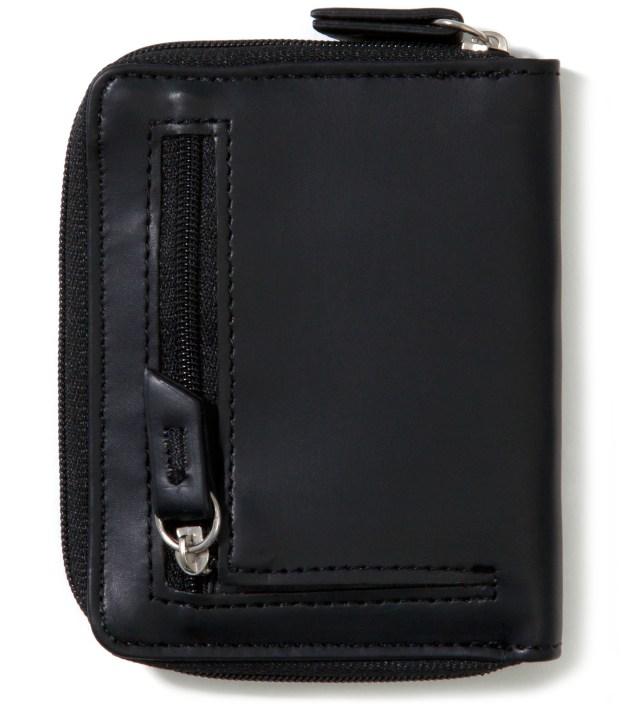 Stussy Black Super Solid Sideways Wallet