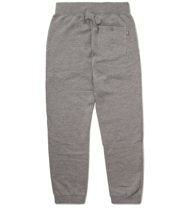 Stussy Heather Grey 12 Sweatpants