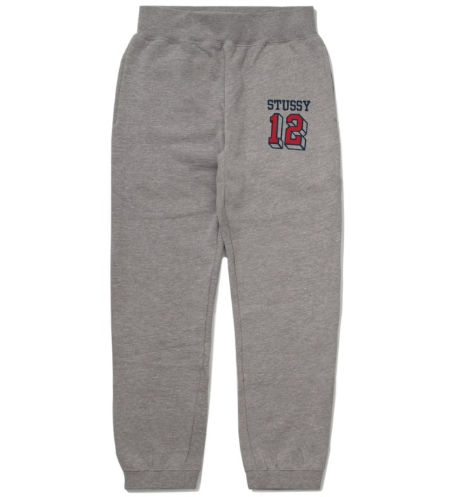 Stussy Heather Grey 12 Sweatpants