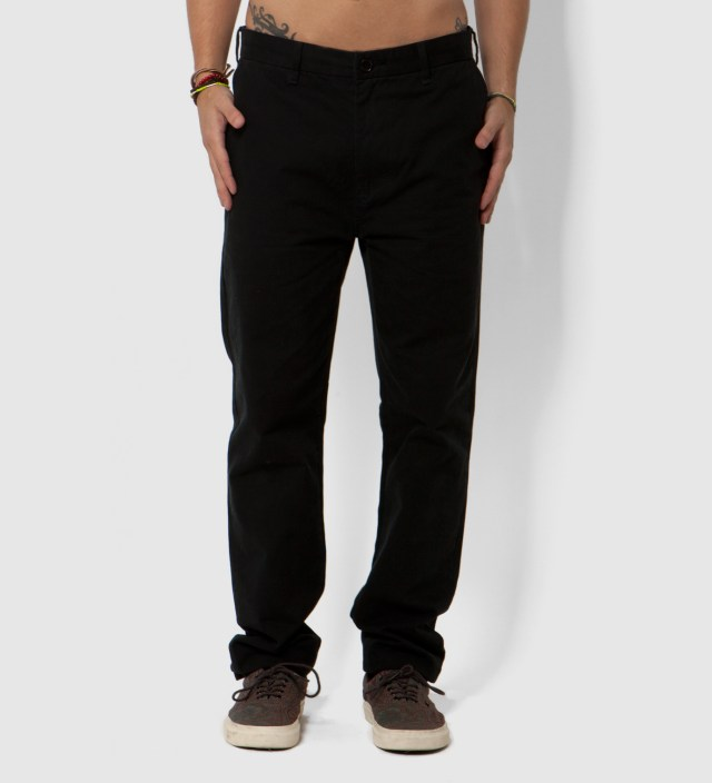 Stussy Black Ralph Chino Trousers
