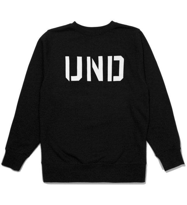 UNDEFEATED Black UND Crewneck