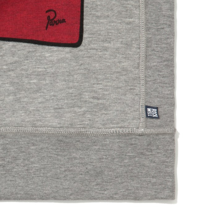 Parra Heather Grey Tits Crewneck