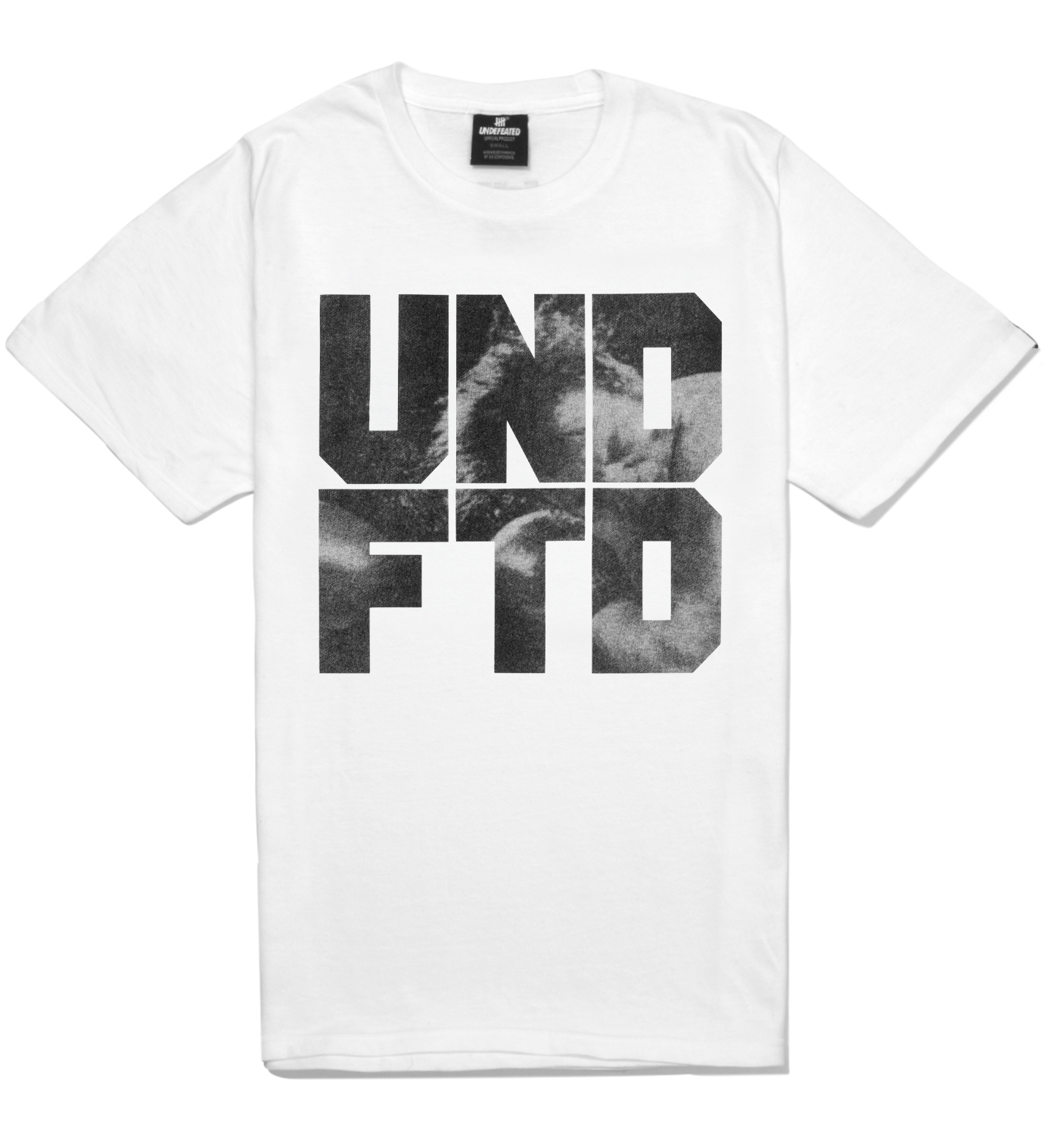 Undefeated White SS Punch T-Shirt