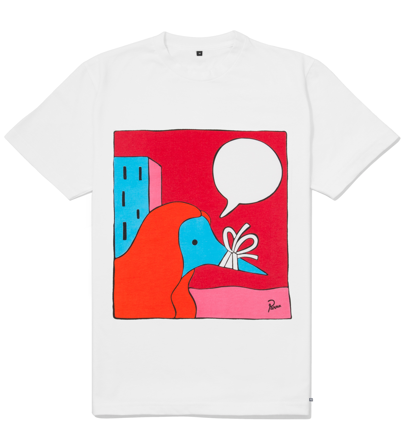 Parra White Your Girl T-Shirt