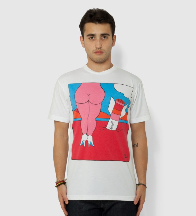 Parra White Riverdance T-Shirt