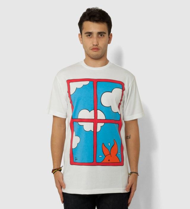 Parra White Peep Wellington T-Shirt