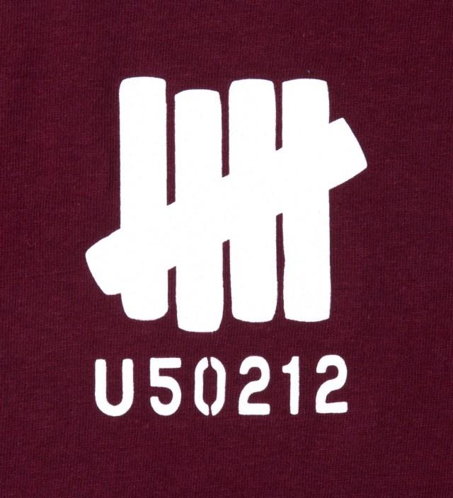 UNDEFEATED Wine SS U50212 T-Shirt