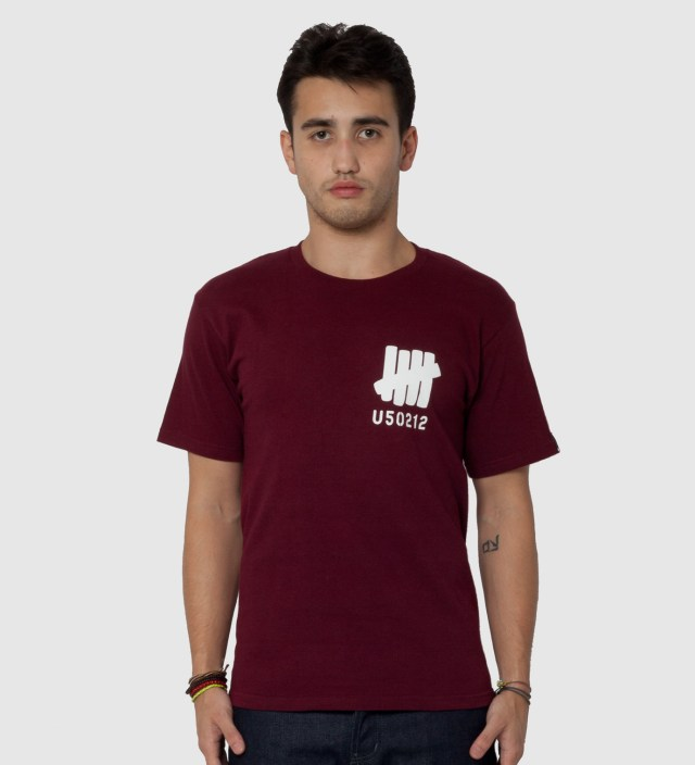 Undefeated Wine SS U50212 T-Shirt