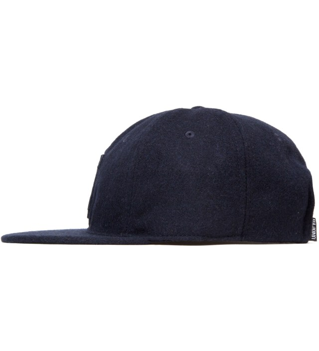 UNDEFEATED Navy Raised U Ebbets Ballcap